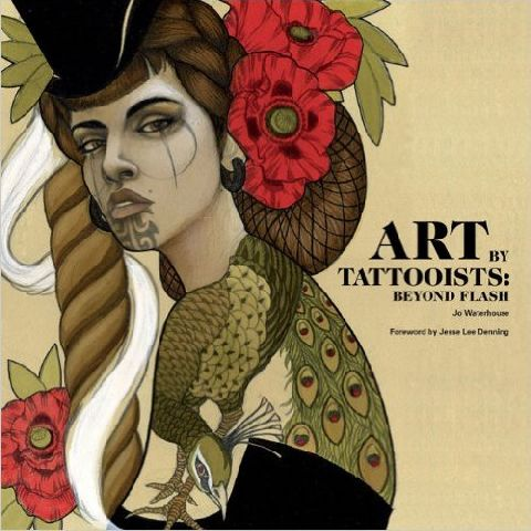 ART BY TATTOOISTS: BEYO ND FLASH