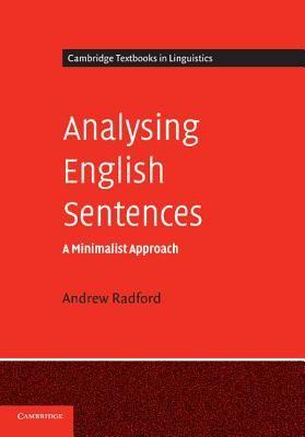 ANALYSING ENGLISH SENTE NCES