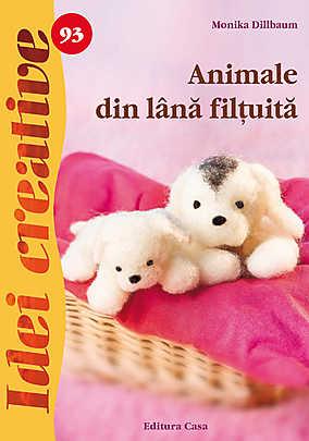 ANIMALE DIN LANA FILTUITA IDEI CREATIVE 93