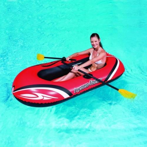 Barca hidro force cu vasle si pompa picior,184 cm