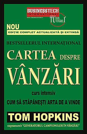 CARTEA DESPRE VANZARI - CUM SA STAPANESTI ARTA DE A VINDE - CURS INTENSIV