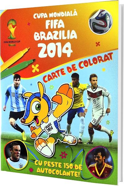CUPA MONDIALA FIFA 2014 - CARTE DE COLORAT