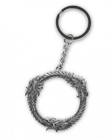 The Elder Scrolls Online Keychain Ouroboros