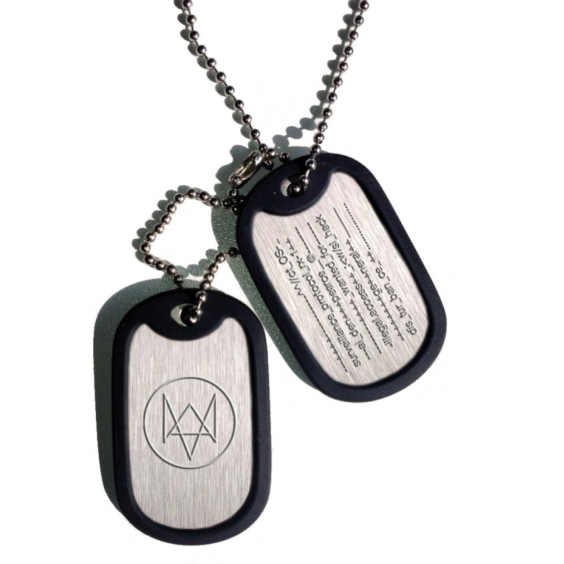 Watch Dogs Dog Tag Fox Wanted