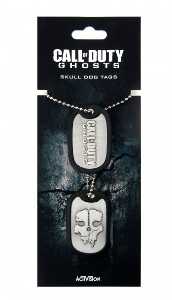 Call of Duty Ghosts Dog Tag Skull