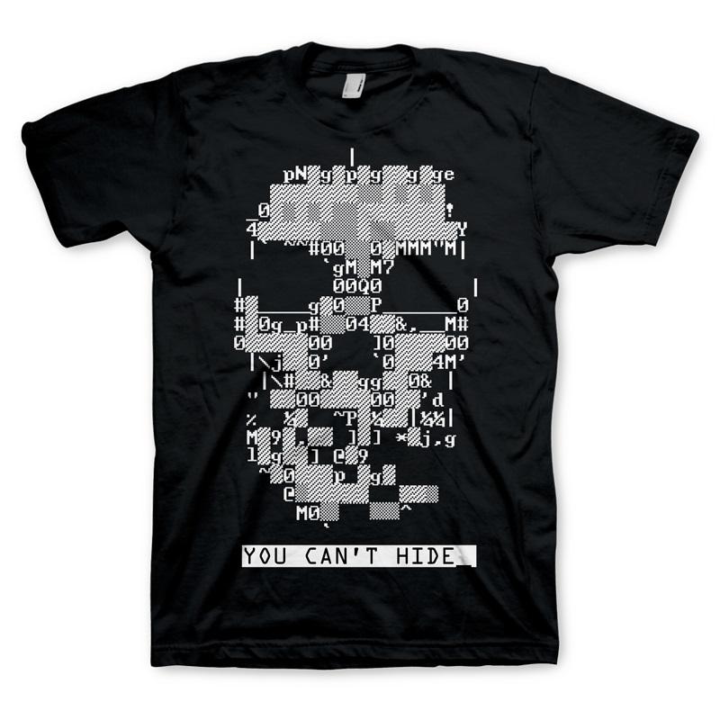 T-SHIRT Watch Dogs T-Shirt Skull Size XL