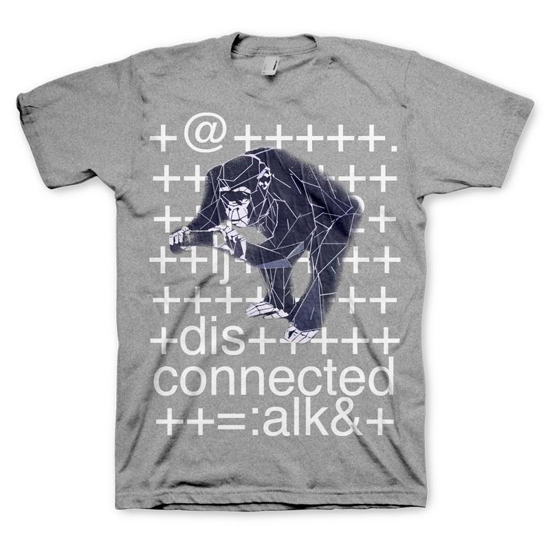 T-SHIRT Watch Dogs T-Shirt Monkey Size L