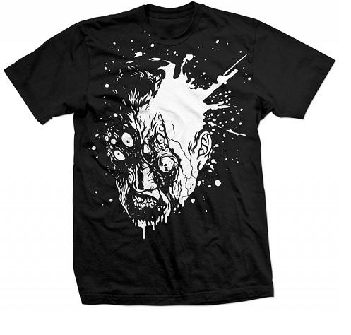 T-SHIRT Resident Evil 6 T-Shirt - white Zombie, black, SIZE L