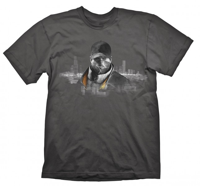 T-SHIRT Watch Dogs T-Shirt Chicago Size M