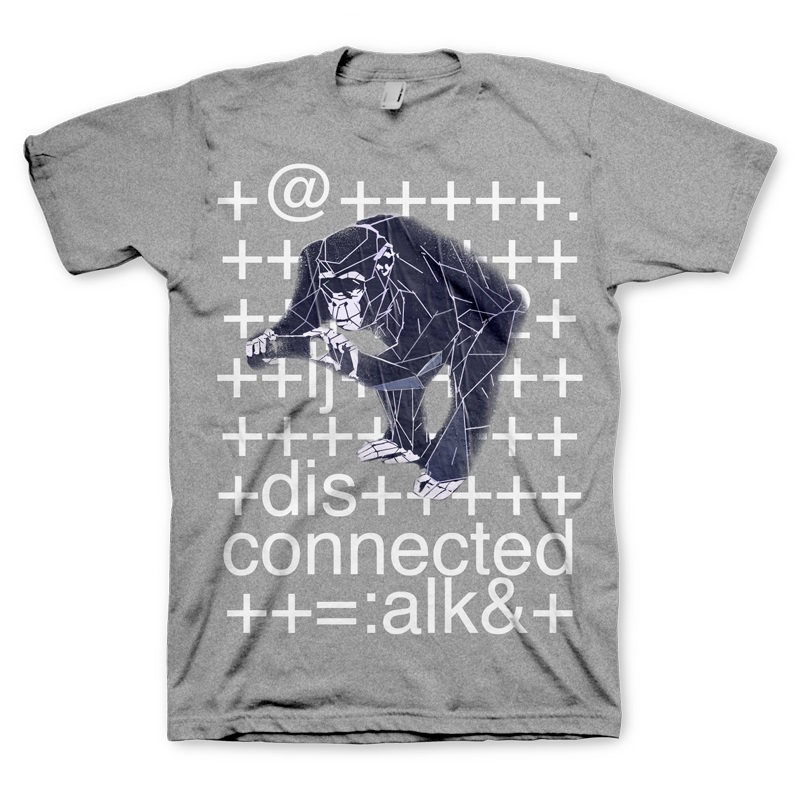 T-SHIRT Watch Dogs T-Shirt Monkey Size XL