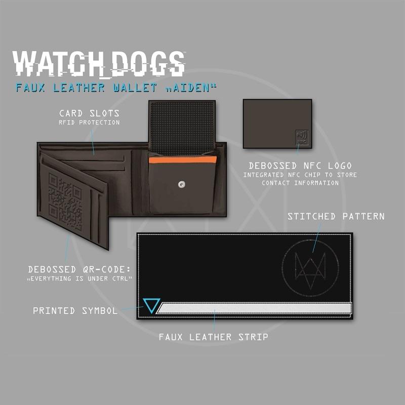 Watch Dogs Hacker NFC Wallet