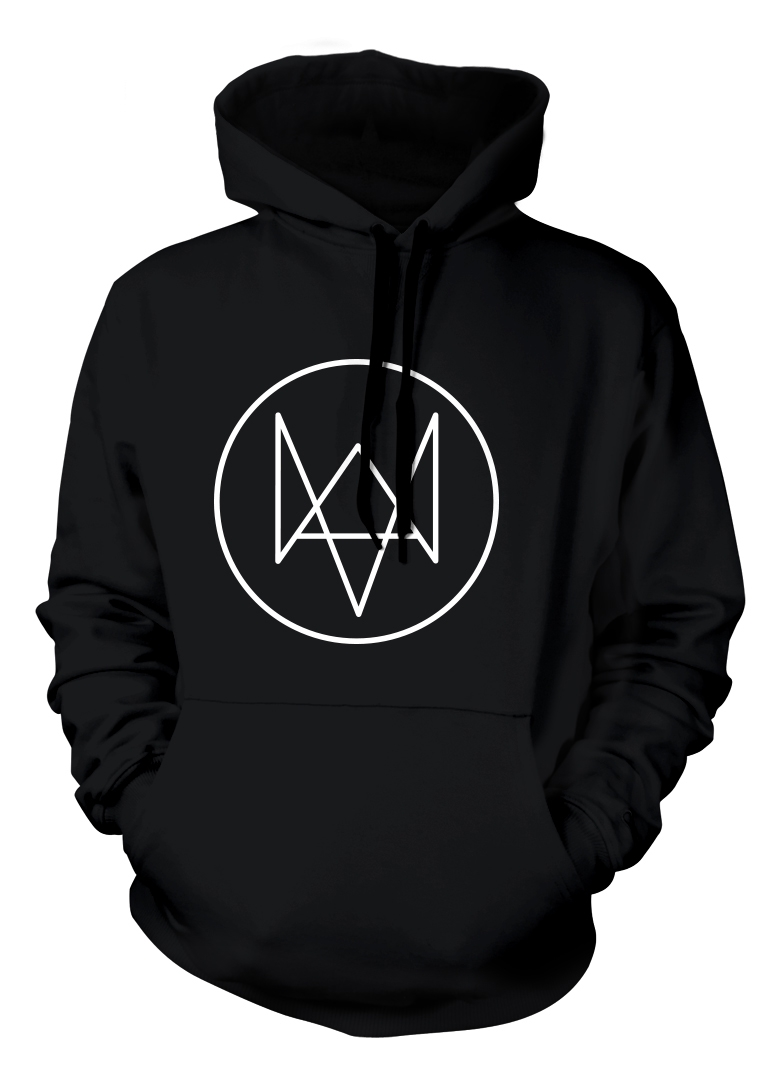 HOODIE Watch Dogs Fox Logo Size XL