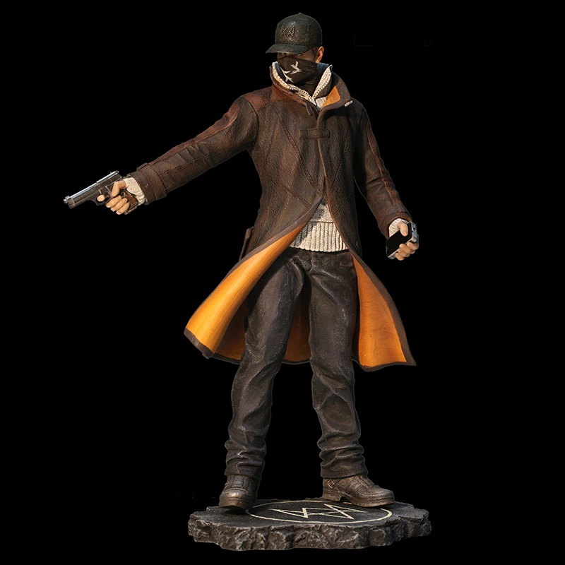 Watch Dogs - Aiden Pearce PVC Statue