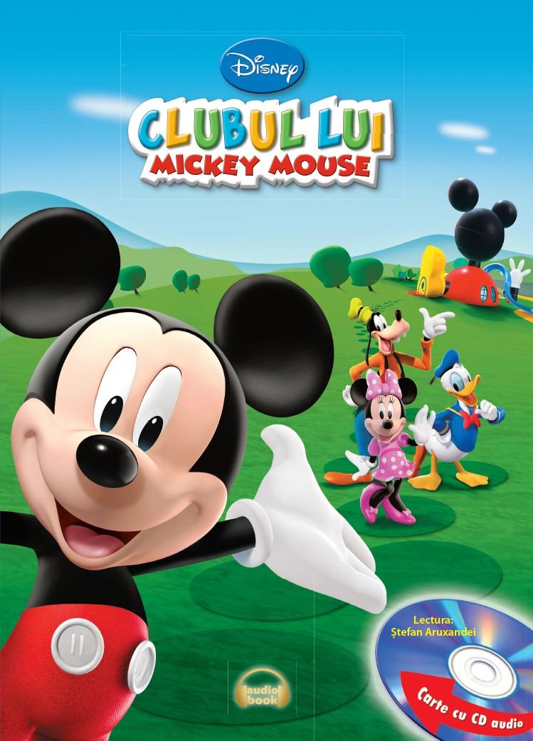 DISNEY. CLUBUL LUI MICKEY MOUSE CARTE+CD
