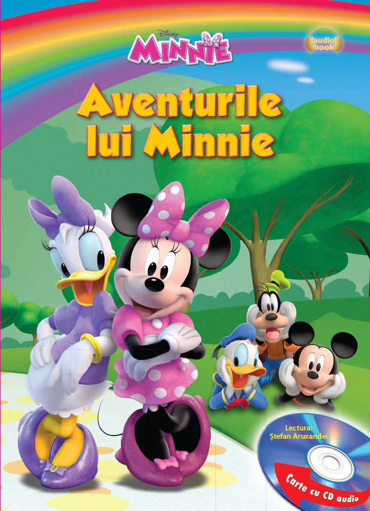 DISNEY. AVENTURILE LUI MINNIE CARTE+CD