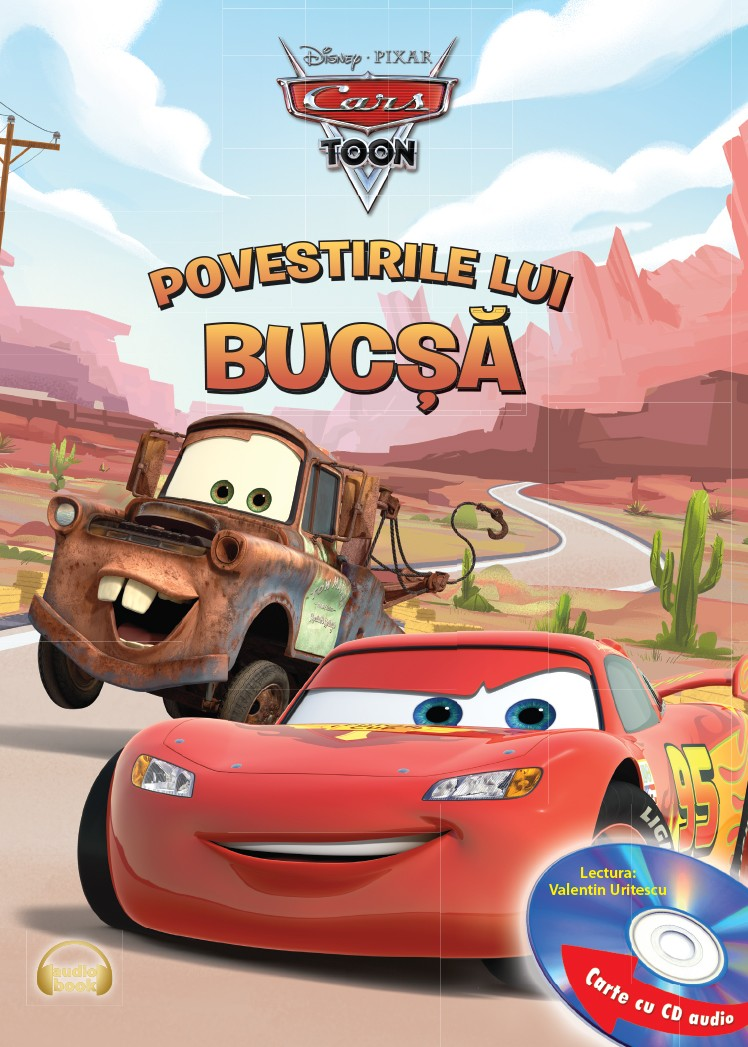 DISNEY. POVESTIRILE LUI BUCSA CARTE+CD