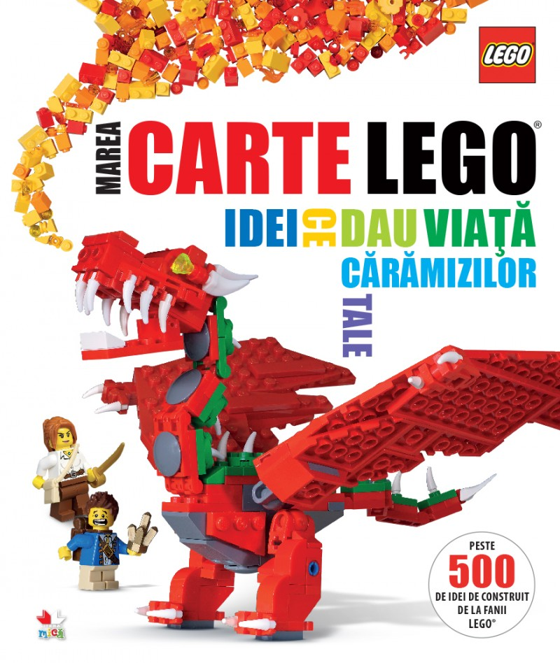 LEGO. MAREA CARTE LEGO. IDEI CE DAU VIATA CARAMIZILOR TALE