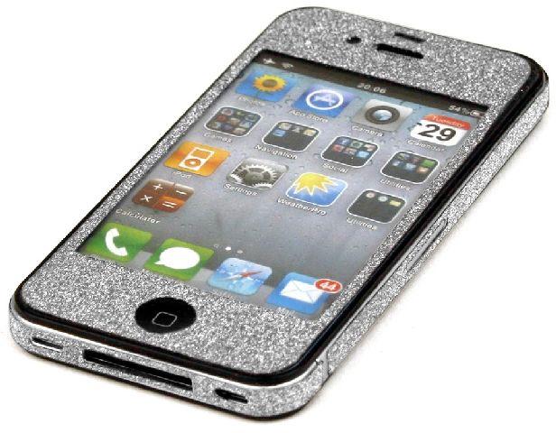 Husa Iphone 4 - Argintiu