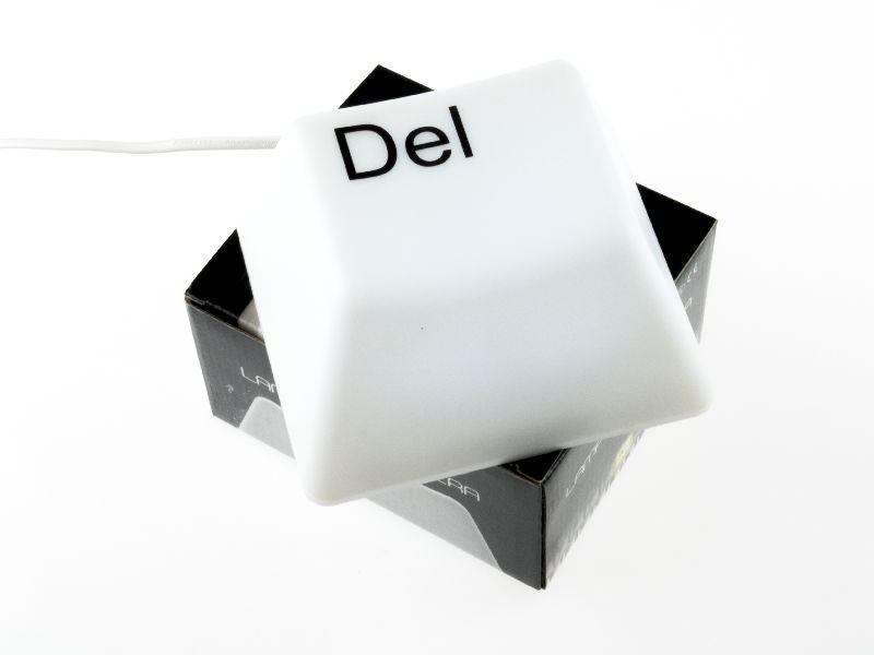 Lampa birou tasta Del