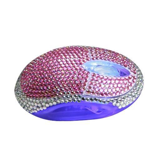 Mouse diamante-violet