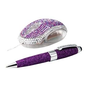 Set cadou Mouse+pix, violet