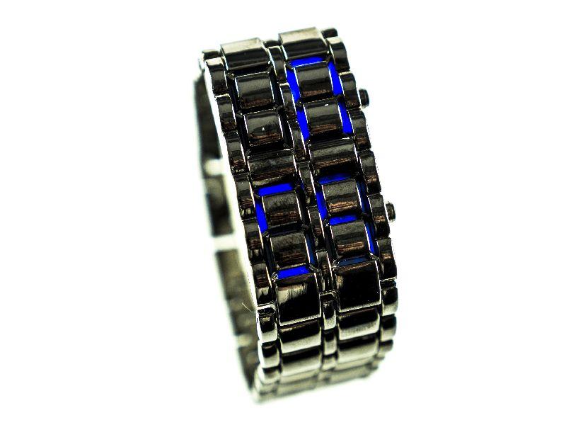 Ceas de mana Samurai (albastru)