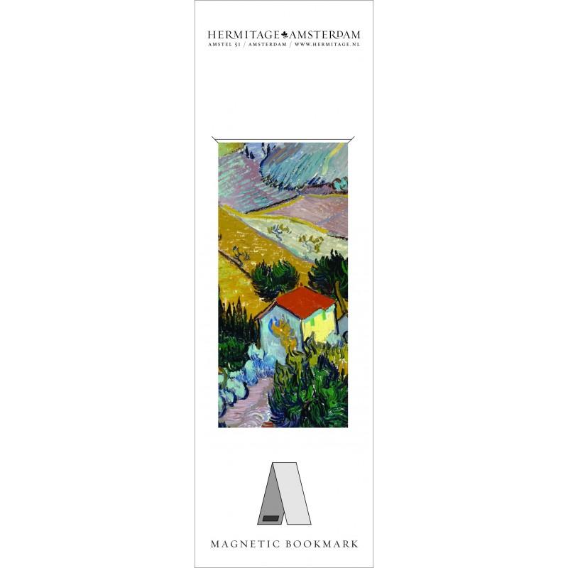 Semn carte LandscapeWithAHouse Van Gogh