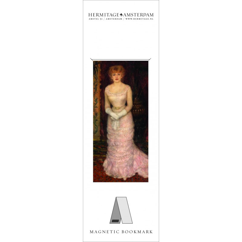 Semn carte PortretOfActress Renoir