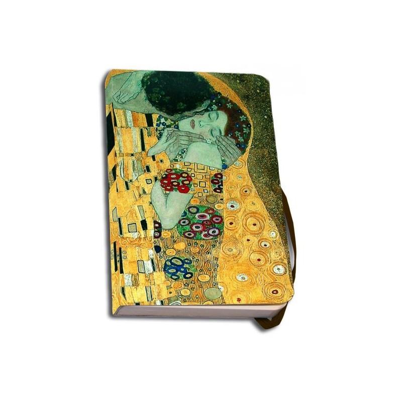 Agenda 9.5x15cm De kus Gustav Klimt