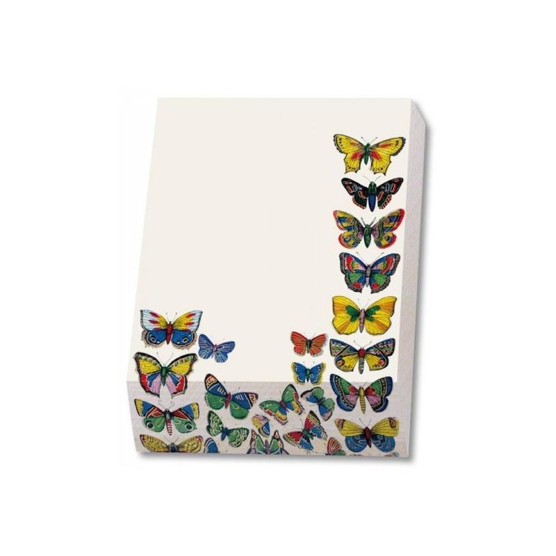 Cub notite Plaat met vlinders
