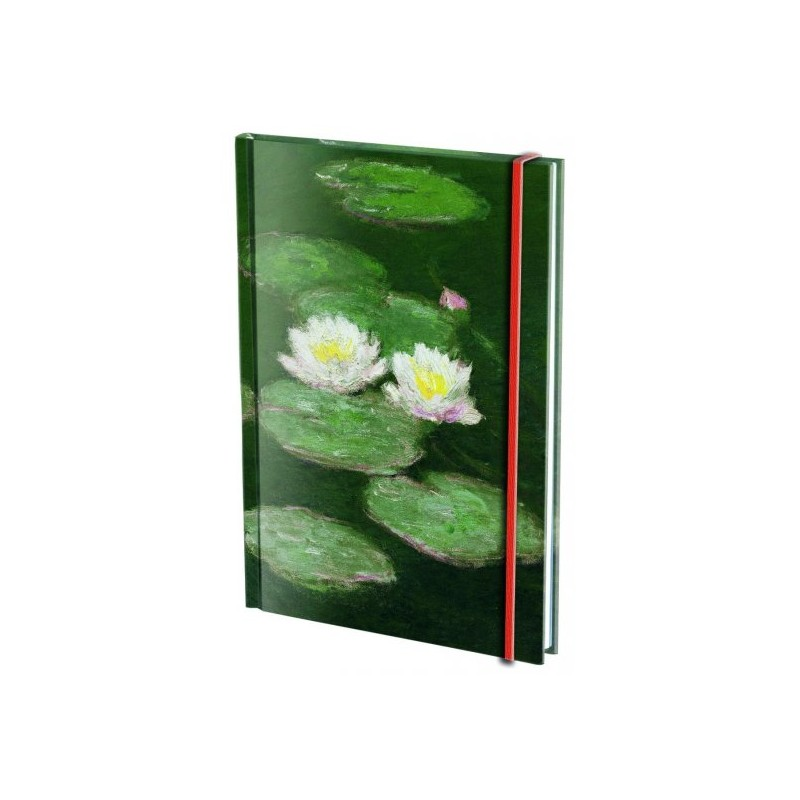 Agenda A6 Waterlelies Claude Monet
