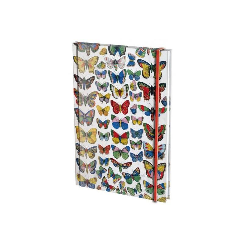 Agenda A6 Plaat met vlinders