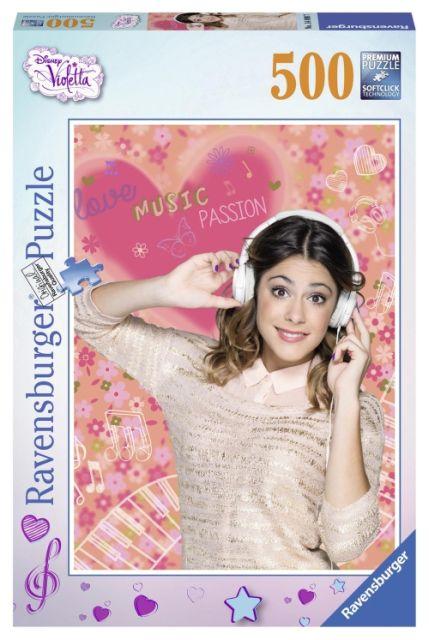 Puzzle Violetta iubeste natura, 500 pcs