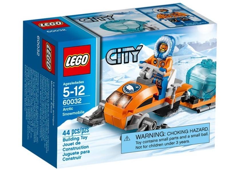 Lego City Snowmobil arctic