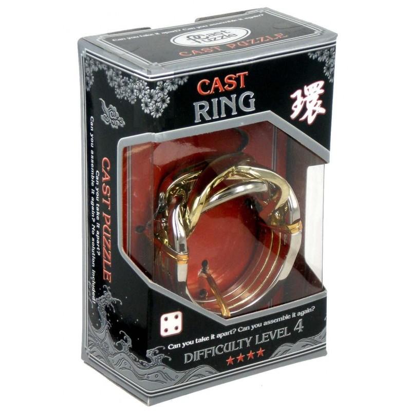 Joc de inteligenta metalic(IQ game)-nivel 4 Ring