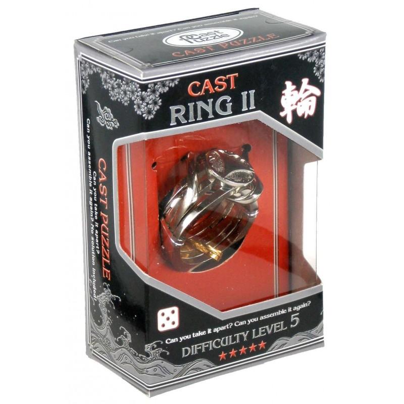 Joc de inteligenta metalic(IQ game)-nivel 5 RingII
