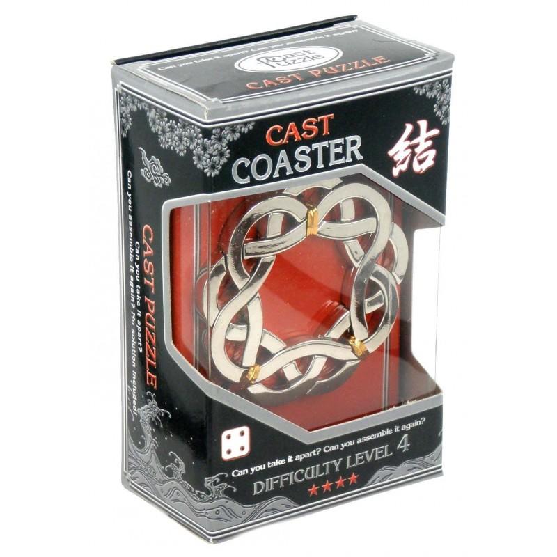 Joc de inteligenta metalic(IQ game)-nivel 4 Coaster