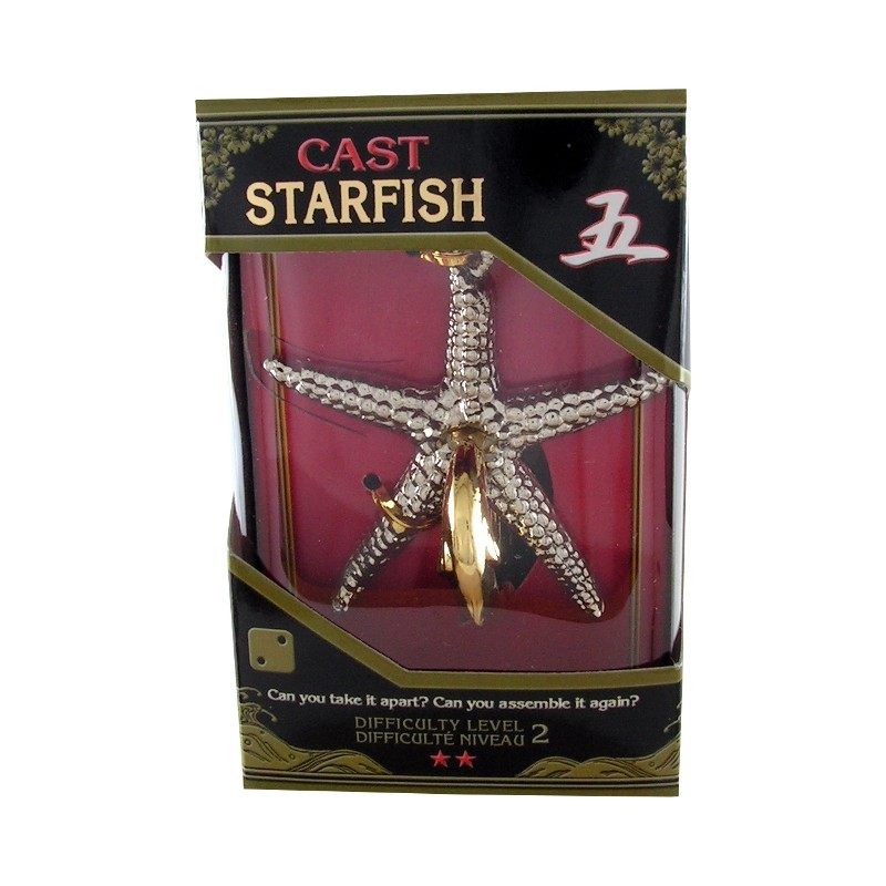 Joc de inteligenta metalic(IQ game)-nivel 2 Starfish