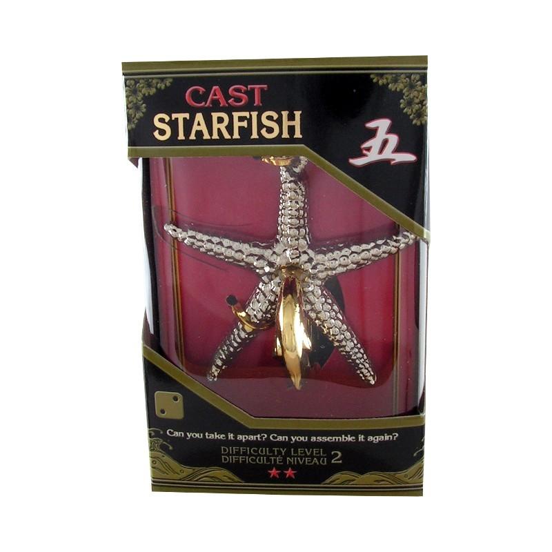 Joc de inteligenta metalic(IQ game)-nivel 2 Starfish