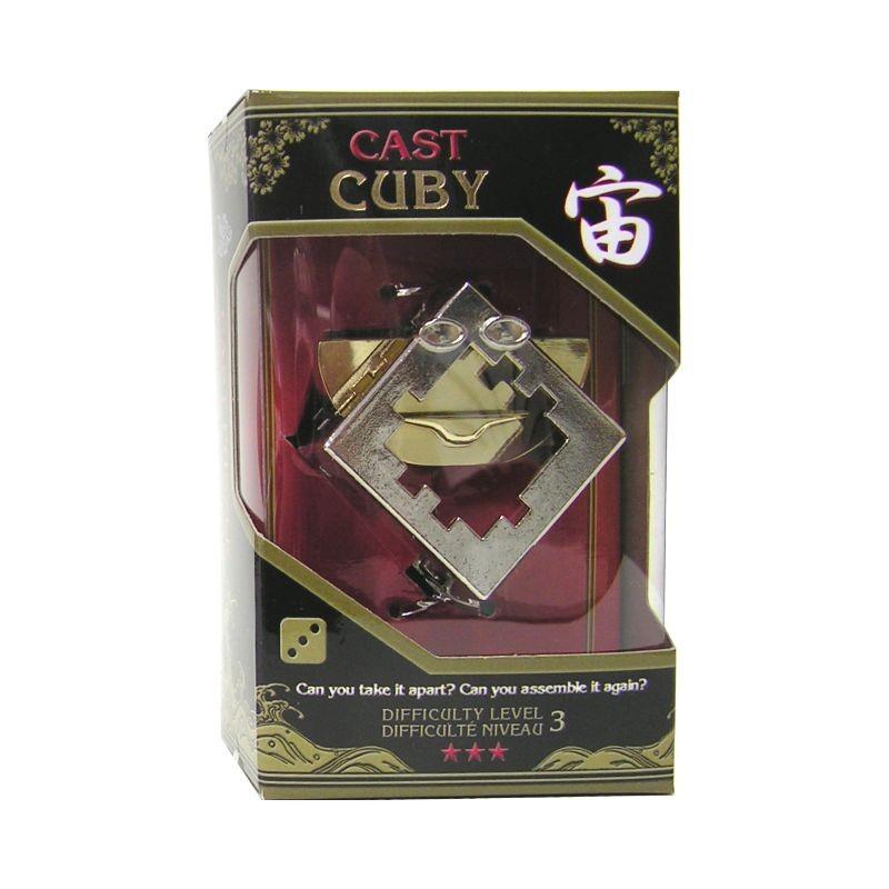 Joc de inteligenta metalic(IQ game)-nivel 4 Cuby
