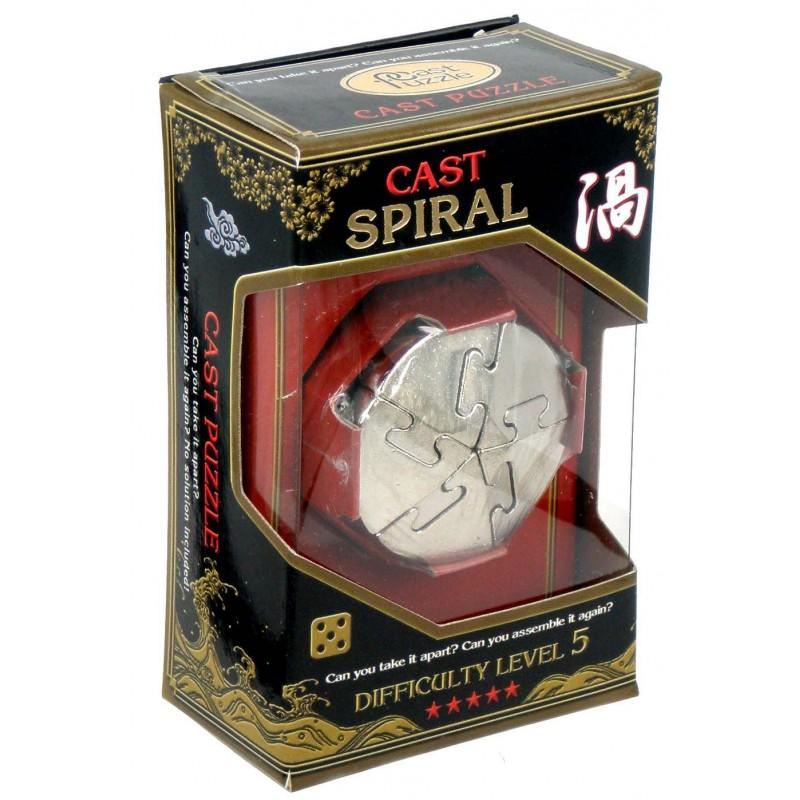 Joc de inteligenta metalic(IQ game)- nivel 5 Spiral