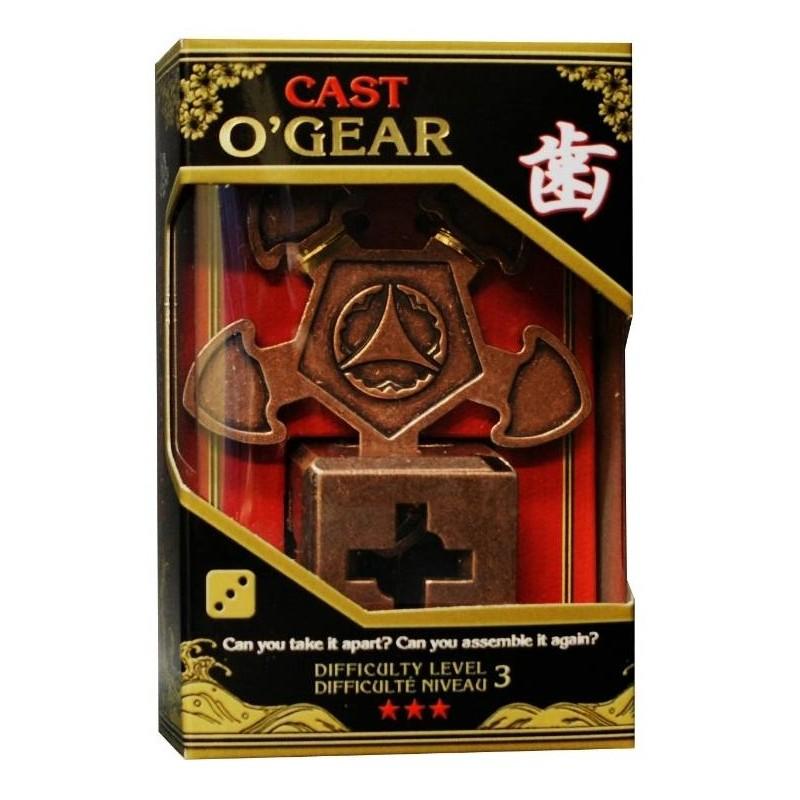 Joc de inteligenta metalic(IQ game)-nivel 3 OGear