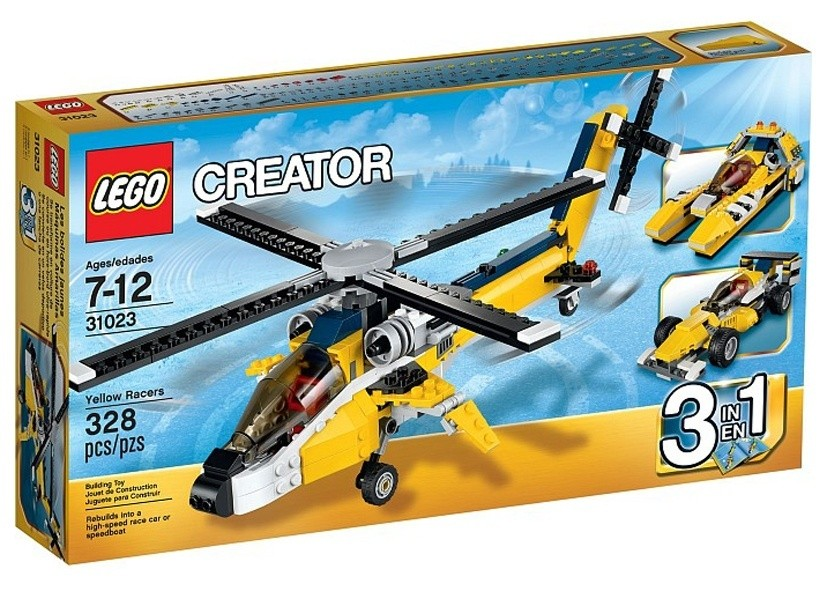 Lego Creator Vehicule galbene