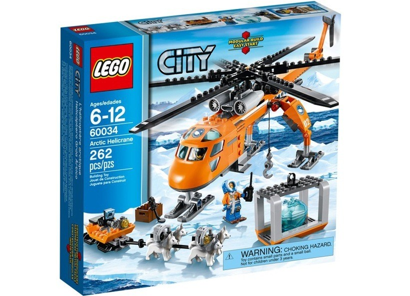 Lego City Elicopter arctic