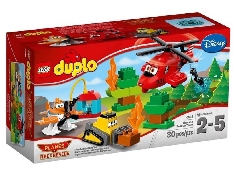 Lego Duplo Echipa de pompieri si salvare