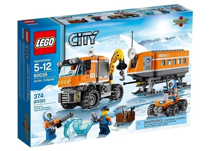 Lego City Avanpost arctic
