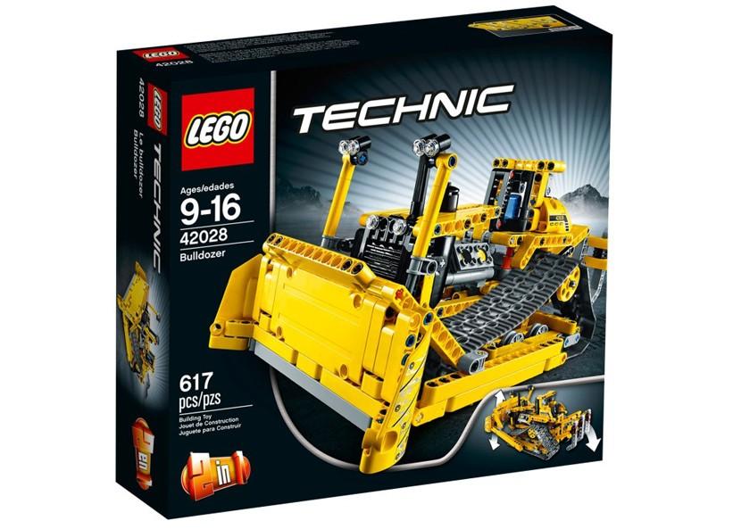Lego Tech Buldozer