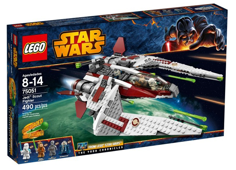 Lego SW Jedi Scout Fighter