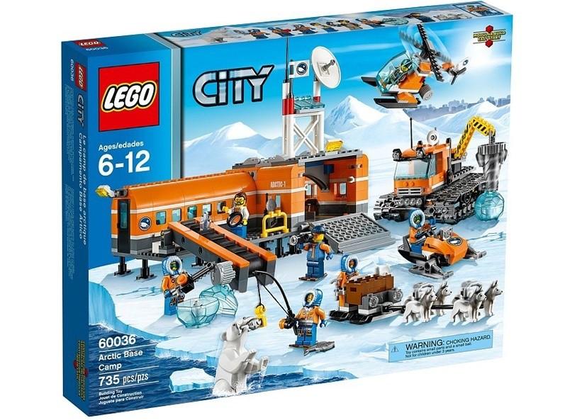 Lego City Tabara de baza arctic