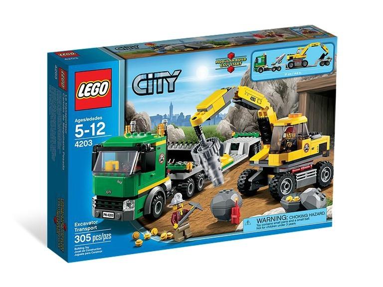 LEGO City Camion pentru mina